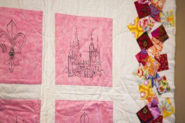 Vierfarben Biebrichs – 4 Quilts für EVIM