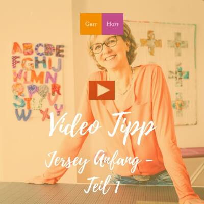 Video Tipp: Jersey-Stoff Anfang nähen – Teil 1