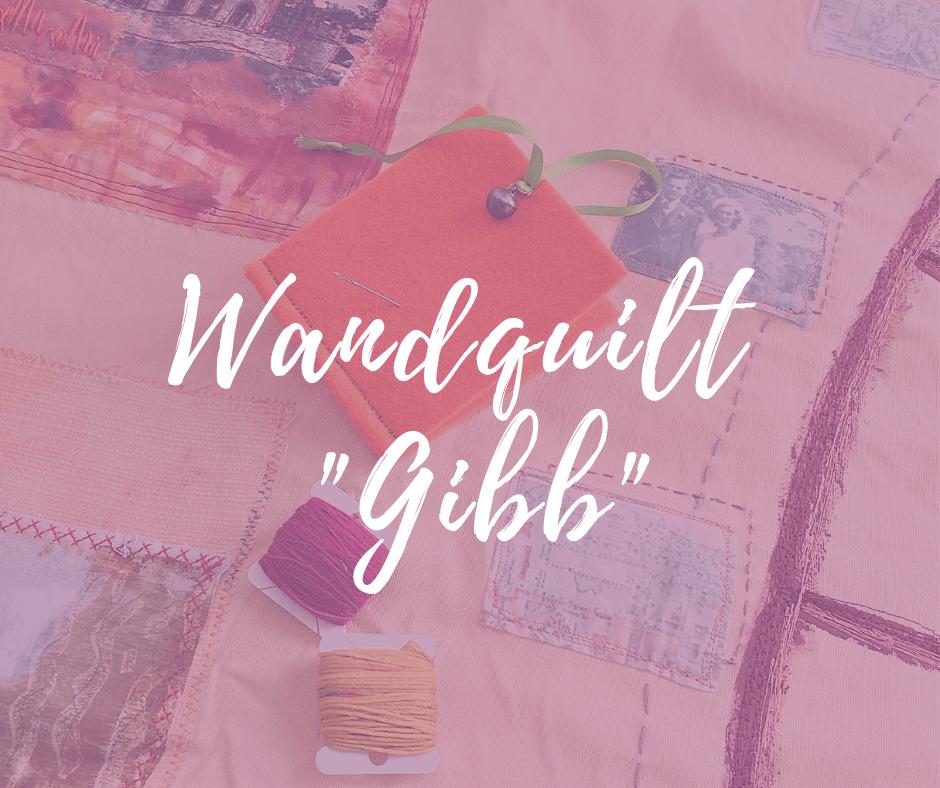"""Wandquilt """"Gibb"""" fürs Katharinenstift in Biebrich"""