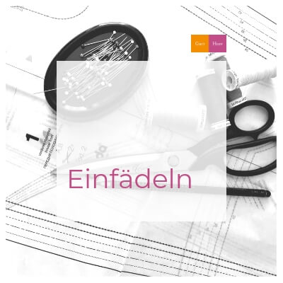 Atelier-Journal: Einfädeln